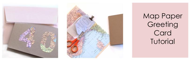 Tutorial - Freshly Found Map card  trio -1 copy